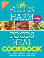 Foods that Harm and Foods that Heal Cookbook: 250 Delicious Recipes to-ExLibrary