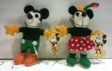 DISNEY MINNIE E TOPOLINO RETRO COLLECTION 2002 MINNIE & MICKEY MOUSE VINTAGE