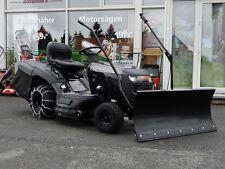 Black-Edition Rasentraktor 185/97 HSP Modell 2017 mit Schneeschild+Schneeketten