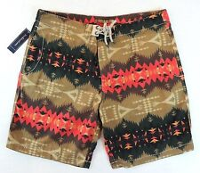 Polo Ralph Lauren Aztec Indian Blanket Southwestern Board Trunks Swim Shorts 38