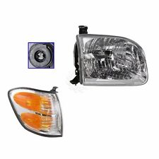2001 - 2004 TOYOTA SEQUOIA HEADLIGHT & CORNER LAMP LIGHT RIGHT PASSENGER SIDE