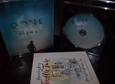 Gone Girl (Blu-ray Disc, NO UV DC Code, 2015)e1 with Amazing Amy Book