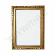 Ornate Shabby Chic Picture frame photo frame poster frame silver Gold or Walnut