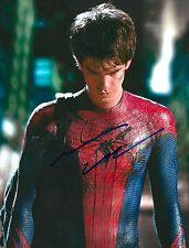Andrew Garfield signed Amazing Spiderman 8X10 photo - Silence