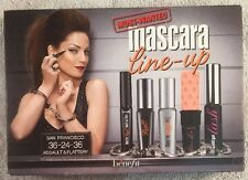 Benefit- Most Wanted - liner/mascara/Tinted primer/Badgal Lash/roller lash