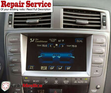 2006-2013 LEXUS IS250 IS350 GPS NAVIGATION *BLACK SCREEN &TOUCH*  REPAIR SERVICE