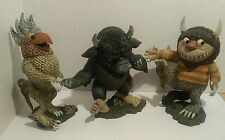 McFarlane Toys Where The Wild Things Are Figures Set of 3-Emil, Bernard, Moishe