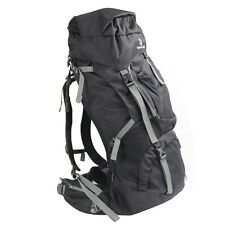 Tahoe Gear Fairbanks 75L Premium Internal Frame Hiking Backpack - Black
