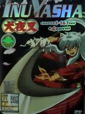Collection DVD INUYASHA Complete Ep.1-167 end+ 4 Movie -Japanese Version