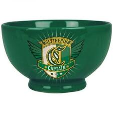 **HARRY POTTER SLYTHERIN STONEWARE CEREAL OR SOUP BOWL RETRO LOGO ** BOWLOHP03