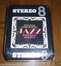 NEW 8-TRACK TAPE - JELLY ROLL MORTON - JAZZ TRIP #1 - STILL SEALED