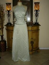 2 PC Jessica McClintock Mint Green Halter Prom Party Formal low Price Dress 8