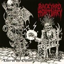 Backyard Mortuary - Lure of the Occult CD 2013 reissue death metal Australia