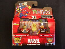 "MARVEL MINIMATES SERIES 42 ""ARMOURED THOR & BETA RAY BILL"" MINI-FIGURES. NEW!"