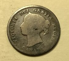 Canada - Queen Victoria - 5 Cents - 1870 - Hole Filler - FREE SHIPPING!