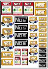 1/64, 1/87 - DECALS FOR HOT WHEELS, MATCHBOX, SLOT CAR: STREET RACER