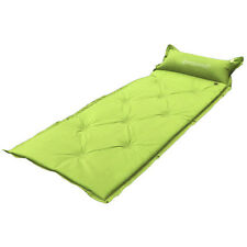 New Inflatable Mattress Air Mat for Sleeping Bag Tent Pad Camping Green
