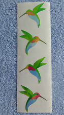 Mrs Grossman OPAL HUMMINGBIRD RETIRED Beautiful Stickers