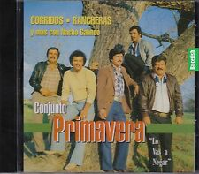 Conjunto Primavera Lo Vas a Negar CD New Nuevo sealed