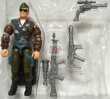 "GI JOE GENERAL TOMAHAWK v1 2-PACK Collectors Edition 2000 3"" Inch LOOSE FIGURE"