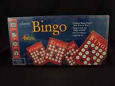 Classic Bingo Game, Cards & Markers For Up To 16 Players