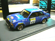 OPEL Ascona B Tg. 2 Rally Monte Carlo 1981 Publimmo Venere TCHINE Neo Sp 1:43