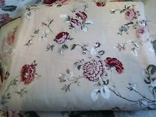 ~BEAUTIFUL LARGE WAVERLY ROSE SONATA TEA STAIN 70X88 TABLECLOTH! COTTAGE CHIC!~
