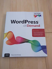 WordPress on Demand by Patrice-Anne Rutledge (2013, Paperback) Book Com Internet