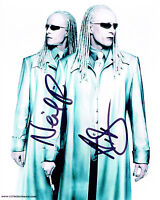 The Matrix TWINS SIGNED Autograph 10x8 Photo AFTAL COA Neil & Adrian RAYMENT