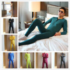 New Sexy Men Soft Thermal Underwear Long Johns Warm Tee Tops Pants Bottom Set
