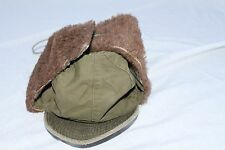 Vtg Korean War US Army Military M-1951 Cold Field Pile Cap Sz-7 Dated 06/16/1953