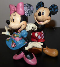 JIM SHORE MICKEY MOUSE MINNIE FOR MY SWEETHEART WALT DISNEY FIGURINE