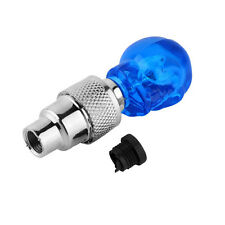 2pcs Skull Shape Valve Cap LED Light Wheel Tyre Lamp for Car Motorbike Bike