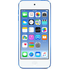 Apple iPod Touch 32GB 6th Generation - Blue (MKHV2LL/A)