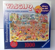 Ravenburger Wasgij Mystery jigsaw Puzzle -HIGH TIDE- 1000 pcs