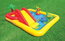 Intex Ocean Play Center Baby Kids Inflatable Wading Splash Pool 57454EP