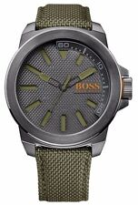 Hugo Boss Orange 1513009 Men's Gunmetal PVD Case Grey Dial Quartz Watch