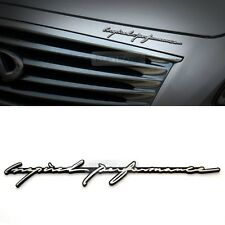 Inspired performance INFINITI Lettering Emblem Point Logo Badge for All Vehicle