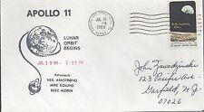 1969 Apollo II Lunar Orbit Begins, Armstrong/Collins/Aldrin