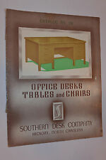 VINTAGE 1920s-30s SOUTHERN DESK CO CATALOG! OFFICE CHAIRS/TABLES/BOOKCASE & MORE