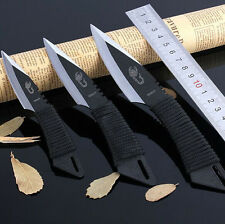 1 set ( 3 in 1), Pocket Knife Tactical Fixed Blade Knife Hunting Camping Knives