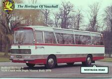 1970 Bedford VAM Coach YXE844H Duple Viceroy body unused Nostalgia Road postcard