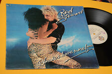 ROD STEWART LP BLONDES HAVE MORE..ORIG ITALY 1978 EX+ GATEFOPLD COVER