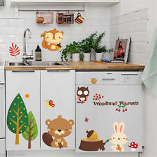 New Cute Bear/Bee/Plant Vinyl Removable Wall Stickers Kids Nursery Baby Decor