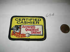 OLD THE HOME DEPOT Uniform  CERTIFIED CASHIER  Accurate QUALIFIED SKILLED PATCH