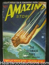 Amazing Stories March 1950 The Ultimate Peril the Cosmic Killer
