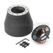 Steering Wheel Hub Snap Off Quick Release Adapter Boss Kit For BMW 3 Series E30
