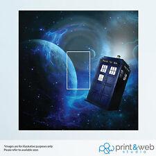 Dr Who Light Switch Sticker Decal Kids Bedroom Art Tardis