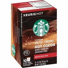 Starbucks Hot Cocoa Salted Caramel Keurig K-Cups