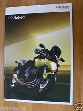 H207 HONDA  BROCHURE 2009 NAKED BIKES MODELS  DUTCH 28 PAGES,CB1300S,CB1000R